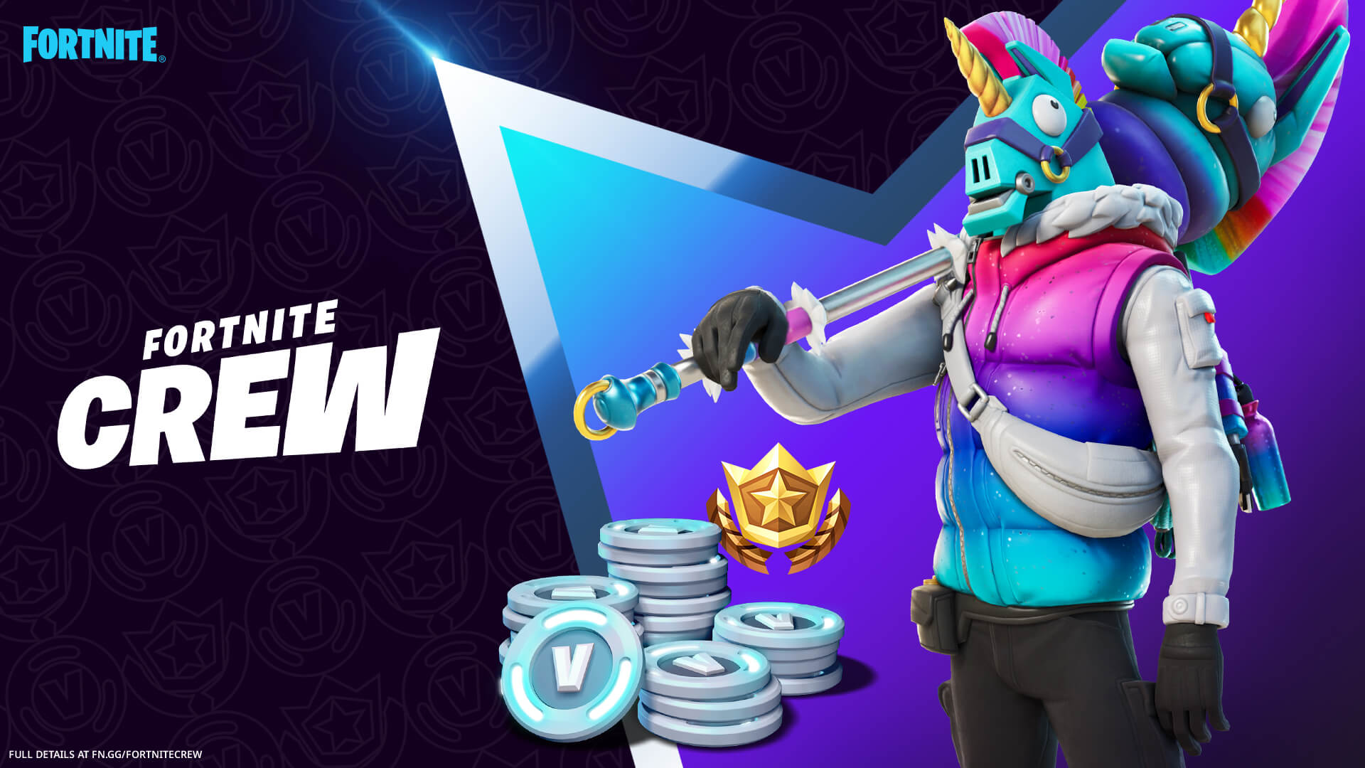 Epic reveal The March Fortnite Crew Pack