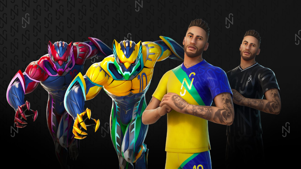 fortnite-reveals-neymar-jr-outfit-with-aggressive-and-inventive-events