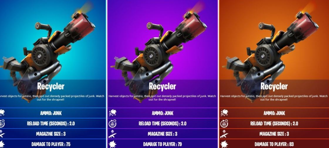 Recycler weapon Fortnite
