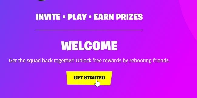 sign up to reboot a friend program
