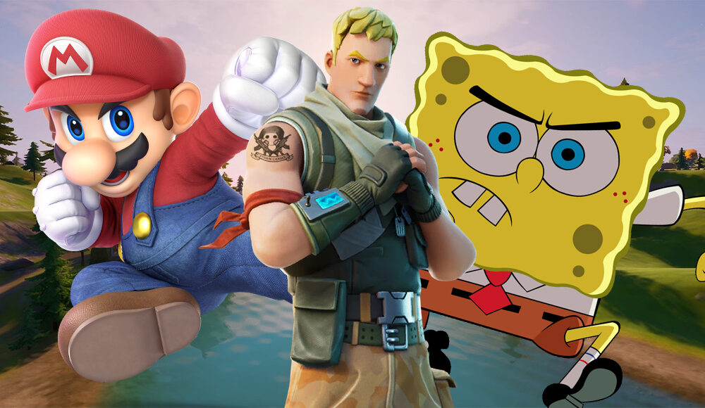 fortnite-survey-teases-crossovers-with-nintendo,-spongebob,-and-a-lot-more