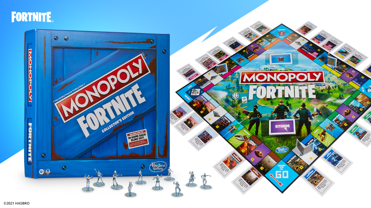 fortnite-reveals-new-monopoly-board-game-with-early-access-to-unreleased-products
